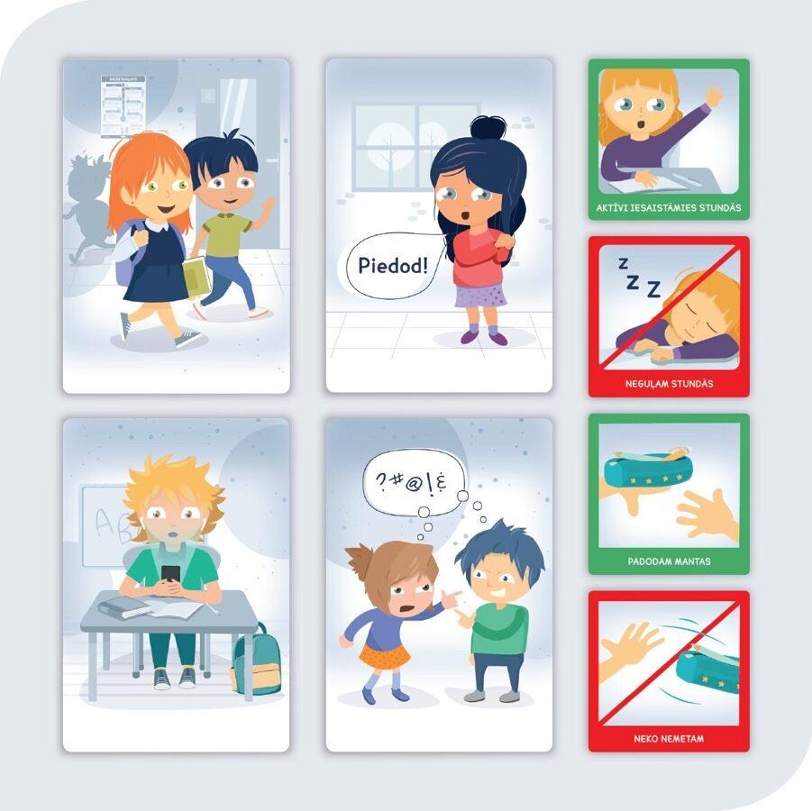 Uzvedības noteikumi pirmsskolai un skolai